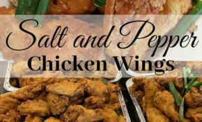 Salt And Pepper Chicken Recipe Bbc – Mama's Guide Recipes – Food Recipes Bbc
