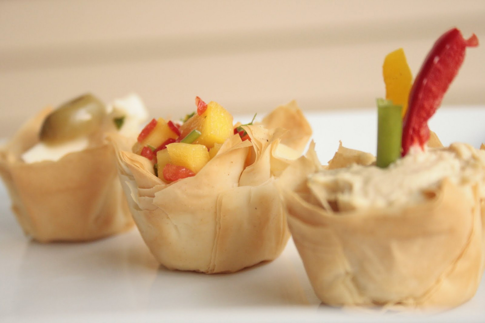 Salt.Pepper.Chili: Phyllo Cup Appetizers - A Gourmet ..