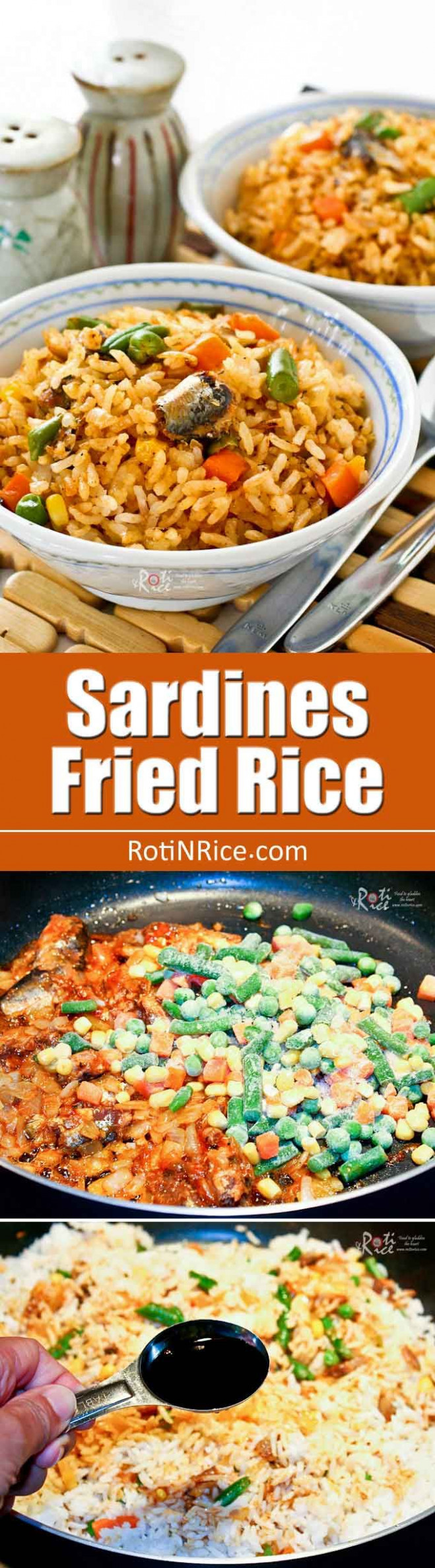 Sardines Fried Rice | Recipe | Food to try | Sardine ..