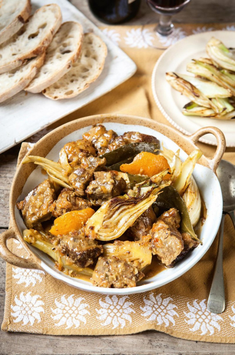 Sardinian Lamb With Fennel - Hairy Bikers Recipes Chicken