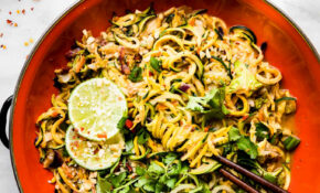 Satay Style Spiralized Vegetable Stir Fry Recipe – Recipes Vegetarian Stir Fry