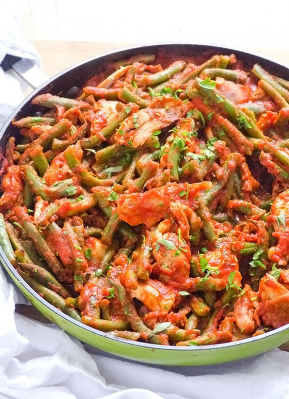 Saucy Green Beans and Chicken | Recipe | Kitchenettes ..