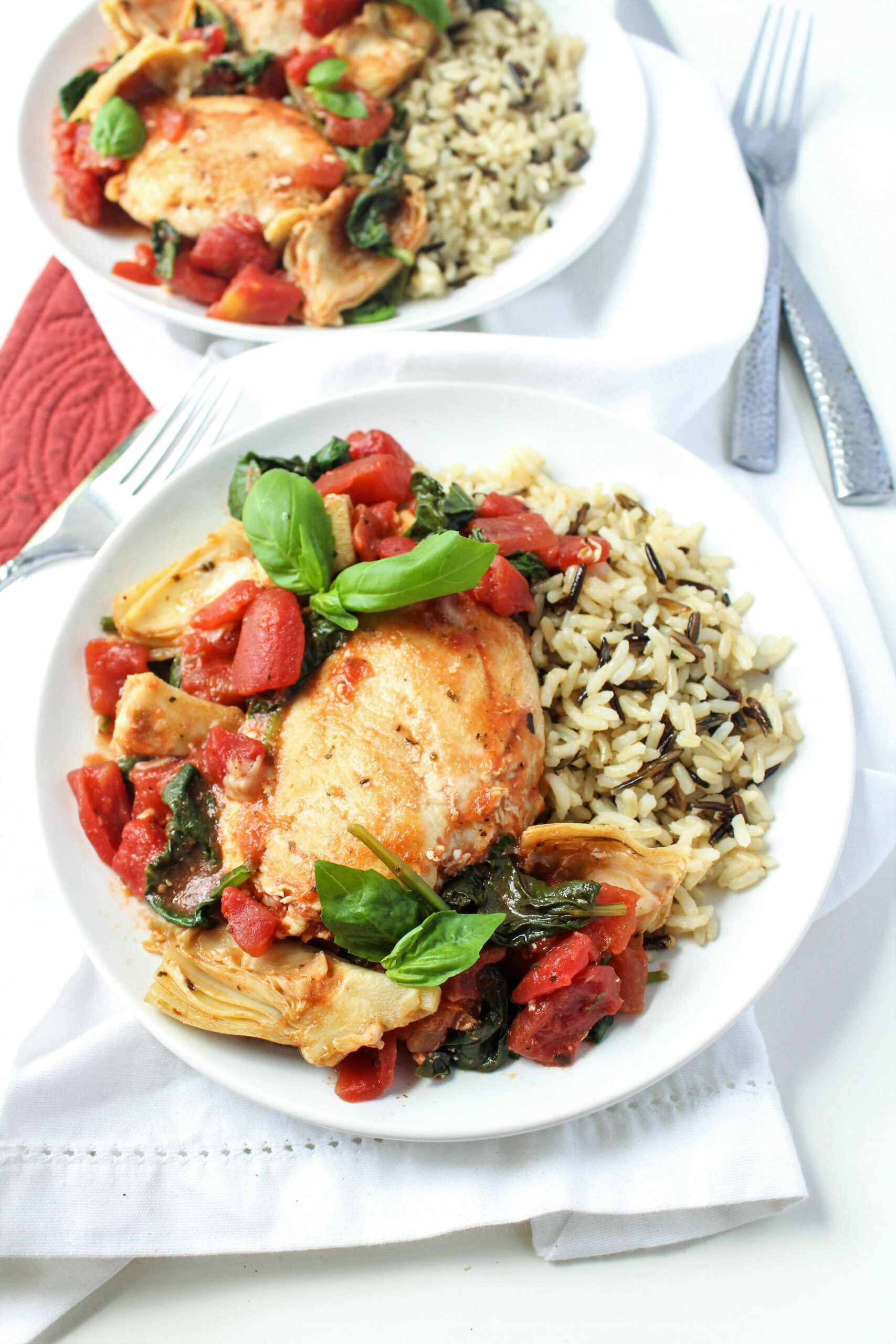 Saucy Tomato and Artichoke Chicken Recipe | 15 Minute ..
