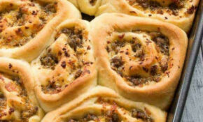 Sausage And Cheese Breakfast Rolls | Baked By An Introvert® – Recipes Using Breakfast Sausage For Dinner