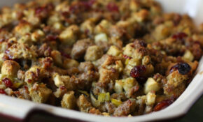 Sausage, Apple And Cranberry Stuffing – Dinner Recipes Ground Turkey