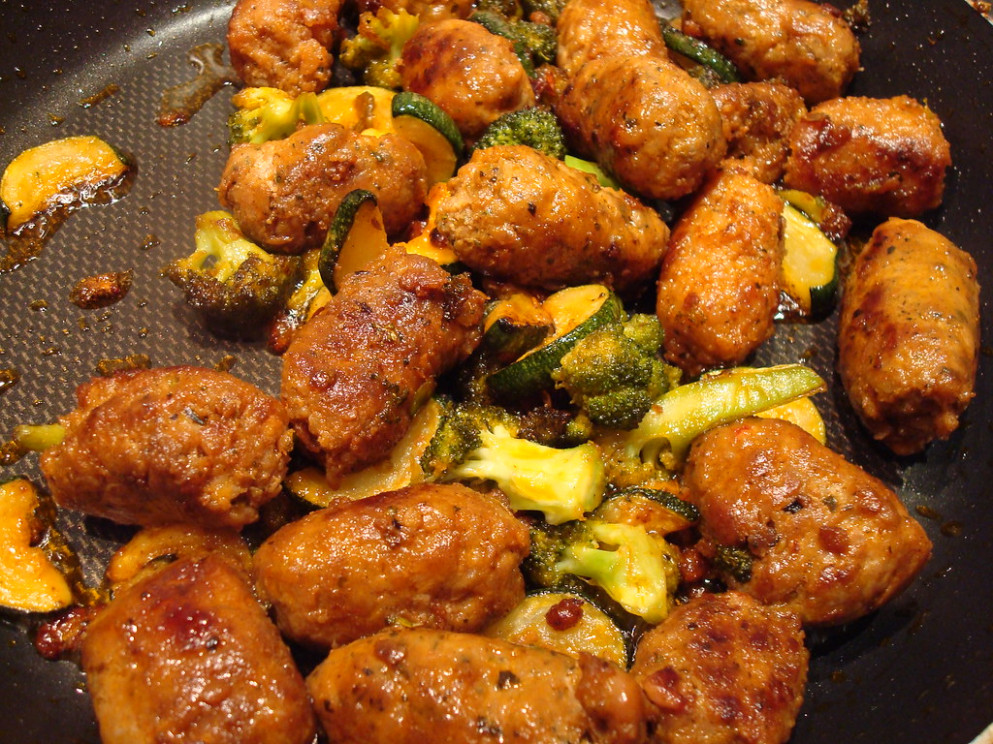 Sausage Meatballs With Zuchinni And Brocolli - Recipes In Dinner