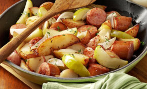 Sausage Skillet Dinner Recipe | Taste Of Home – Recipes Ideas For Dinner