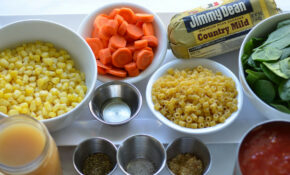 Sausage Soup With Pasta And Veggies• Happy Family Blog – Jimmy Dean Sausage Recipes Dinner