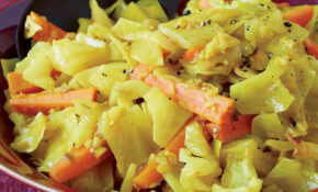 Sautéed Cabbage And Carrots With Turmeric – Cabbage Recipes Vegetarian