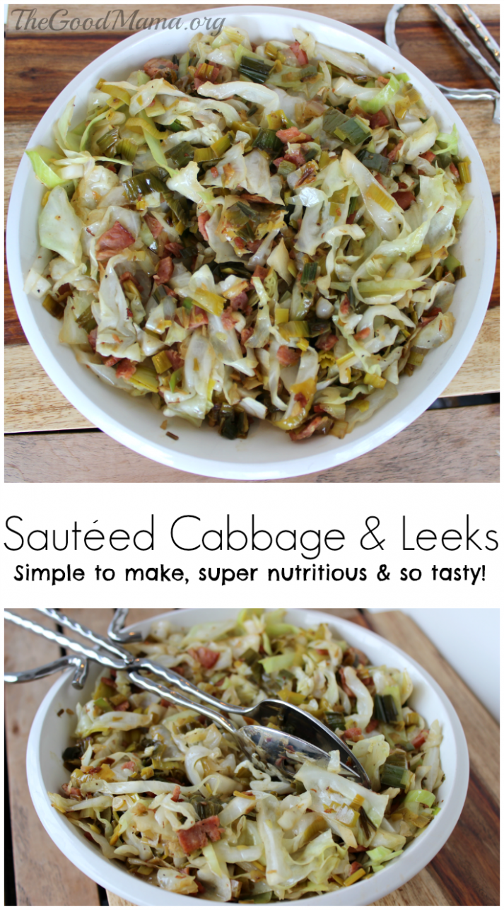 Sautéed Cabbage And Leeks | Recipe | Yummy Healthy Recipes ..