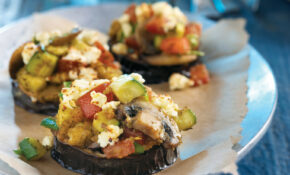 Sauteed Eggplant With Oregano Vegetable Toss | Compliments