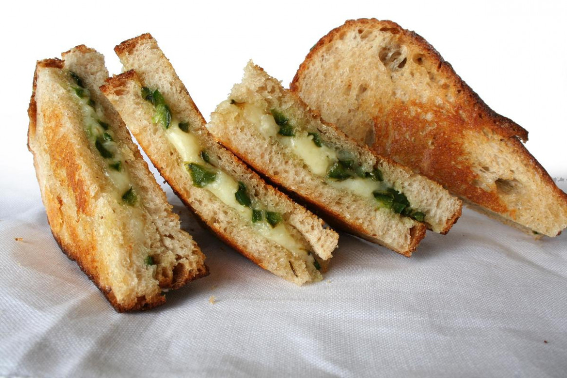 Sautéed Jalapeño And Aged Jack Grilled Cheese - Dinner Recipes With Jalapenos