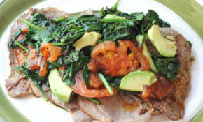 Sauteed Steak With Spinach, Tomatoes & Avocado – Dinner Recipes Avocado