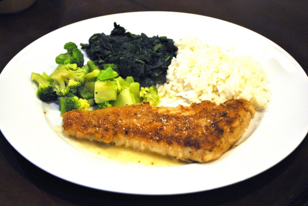 Sautéed Tilapia with Lemon-Peppercorn Pan Sauce - chicken recipes using cooked chicken