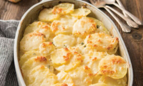 Scalloped Potatoes With Coconut Milk And Basil | Recipe In ..