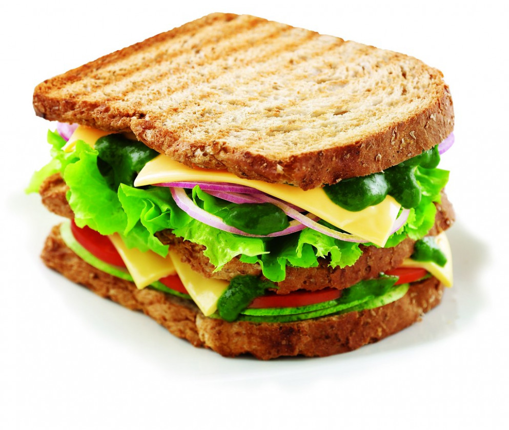 Schezwan Sandwich - dinner recipes non veg