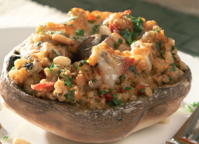 Scottish Stuffed Mushrooms Vegetarian Recipe - recipes stuffed mushrooms vegetarian