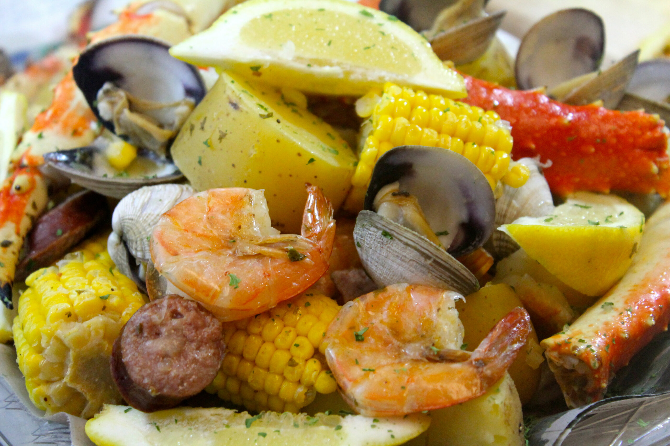 Seafood Boil with King Crab and Sausage | I Heart Recipes - recipes boiled dinner