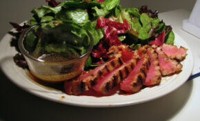 Seared Tuna And Field Greens With Balsamic Dressing – Recipes Of Dinner
