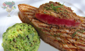 Seared Tuna Steaks W. Tarragon Avocado Spread Recipe ..