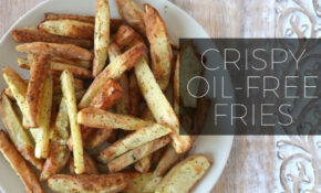 Seasoned Crispy Oil Free Fries Recipe | Power AirFryer XL ..