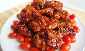 Seasoned Fried Chicken (Yangnyeom Tongdak) Recipe ..