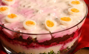Seven Layer Salad :) / Kihiline Peedi Juustusalat – New Year's Eve Recipes Dinner