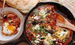 Shakshuka (North African–Style Poached Eggs In Spicy Tomato Sauce) Recipe – Recipes Of Eggs For Dinner