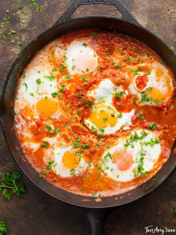 Shakshuka - Recipe & Video for Delicious Middle Eastern ..