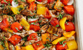 Sheet Pan Honey Balsamic Chicken And Veggies – Chicken And Veg Recipes