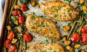 Sheet Pan Italian Chicken And Vegetables – Chicken Recipes Vegetables