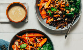 Sheet Pan Meal: Curried Sweet Potato & Chickpeas ..