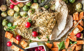 Sheet Pan Thanksgiving Dinner for Two