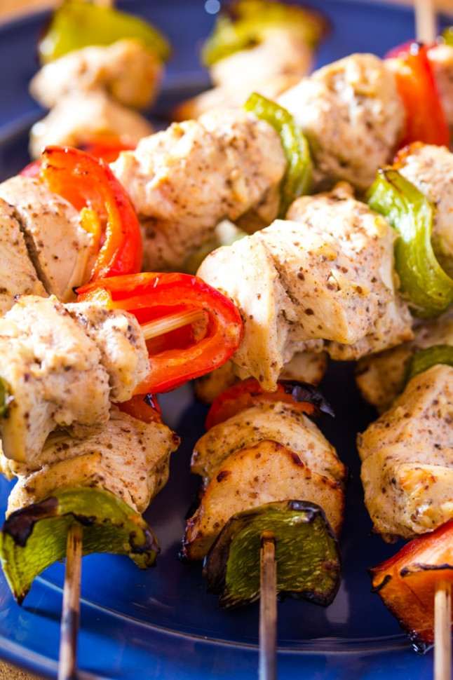 Shish Tawook | Lebanese Grilled Chicken on Skewers (Step ..