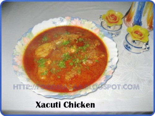 Shobha's Food Mazaa: XACUTI CHICKEN ( Goa) - chicken xacuti recipe in goa