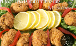 Shot Of Deep Fried Crab Fritters – Puppy Food Recipes