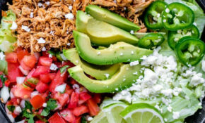 Shredded Chicken Taco Bowl (Low Carb) – Home. Made. Interest