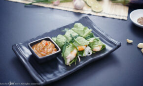 Shrimp And Pork Rolls With Mustard Leaves Recipe – Recipes Vietnamese Food