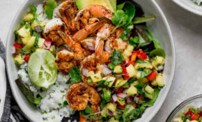 Shrimp Bowls Recipe – Pineapple Recipes Dinner