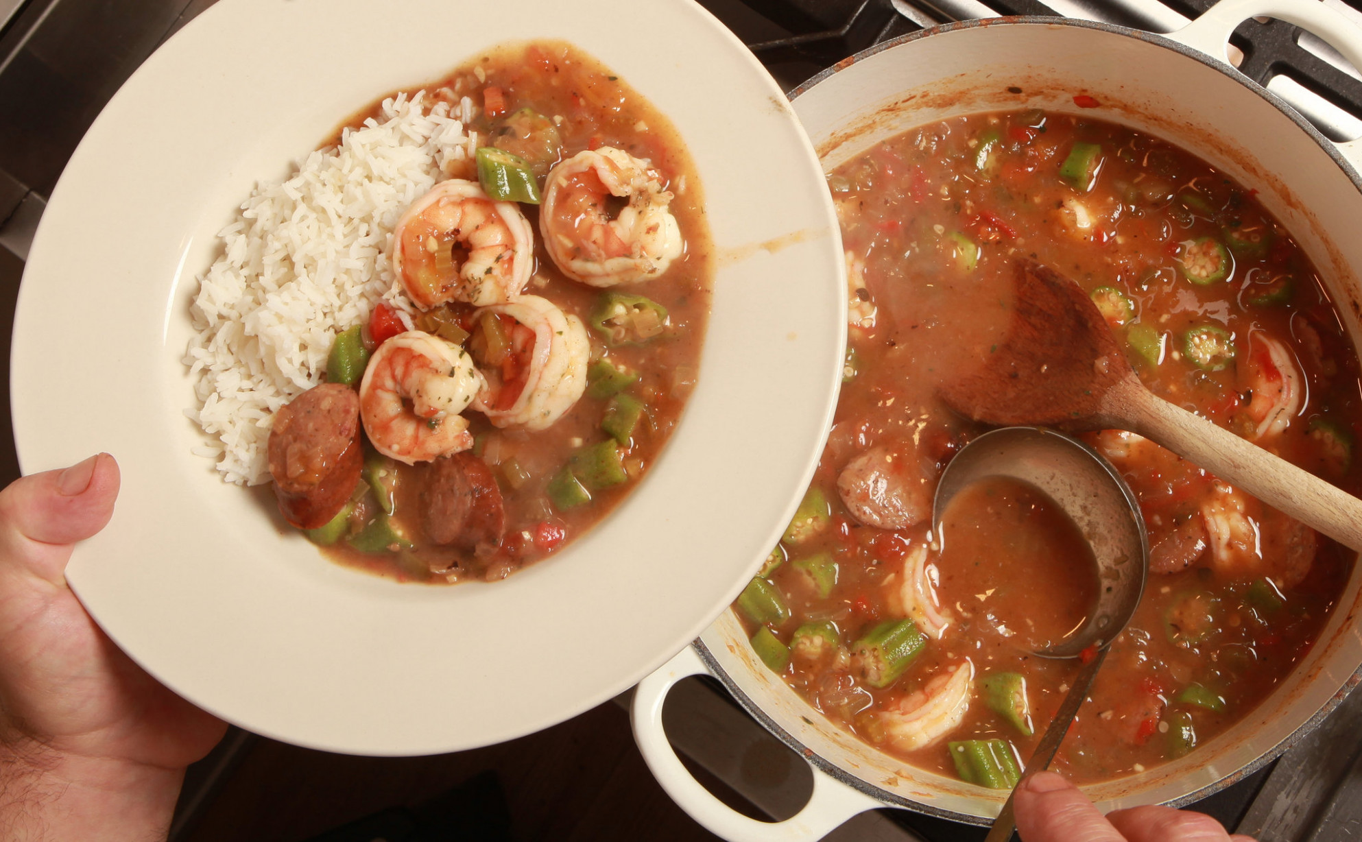 Shrimp Gumbo with Andouille Sausage Recipe - NYT Cooking - recipes gumbo chicken sausage