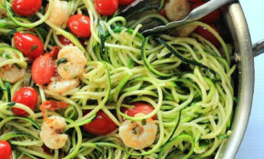 Shrimp Scampi With Zucchini Noodles – Healthy Recipes Zucchini Noodles