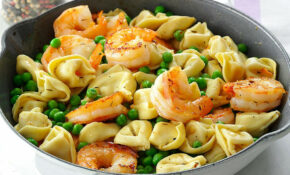 Shrimp Tortellini Pasta Toss Recipe | Taste Of Home – Healthy Recipes Taste