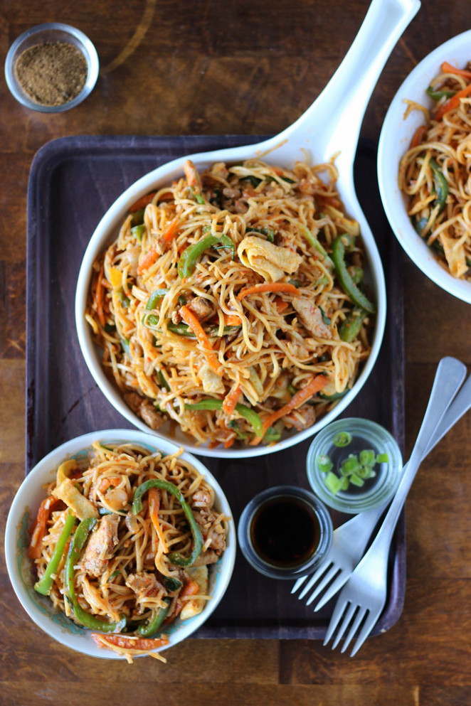 Sichuan Noodles - recipes noodles and chicken