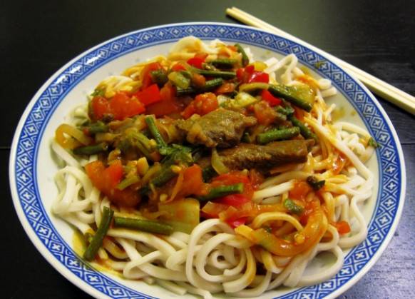 新疆拌面 – Silk Road Chef - uyghur food recipes