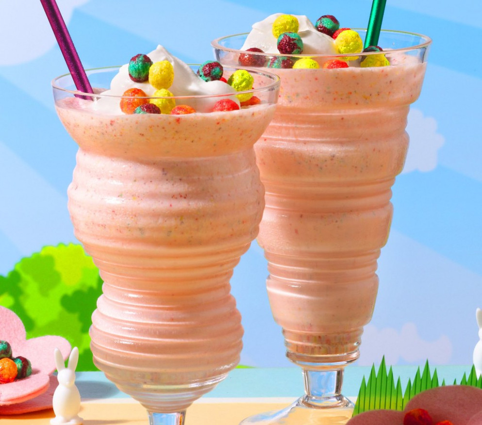 Silly Pink Rabbit Adult Malts Recipe - food recipes with vodka