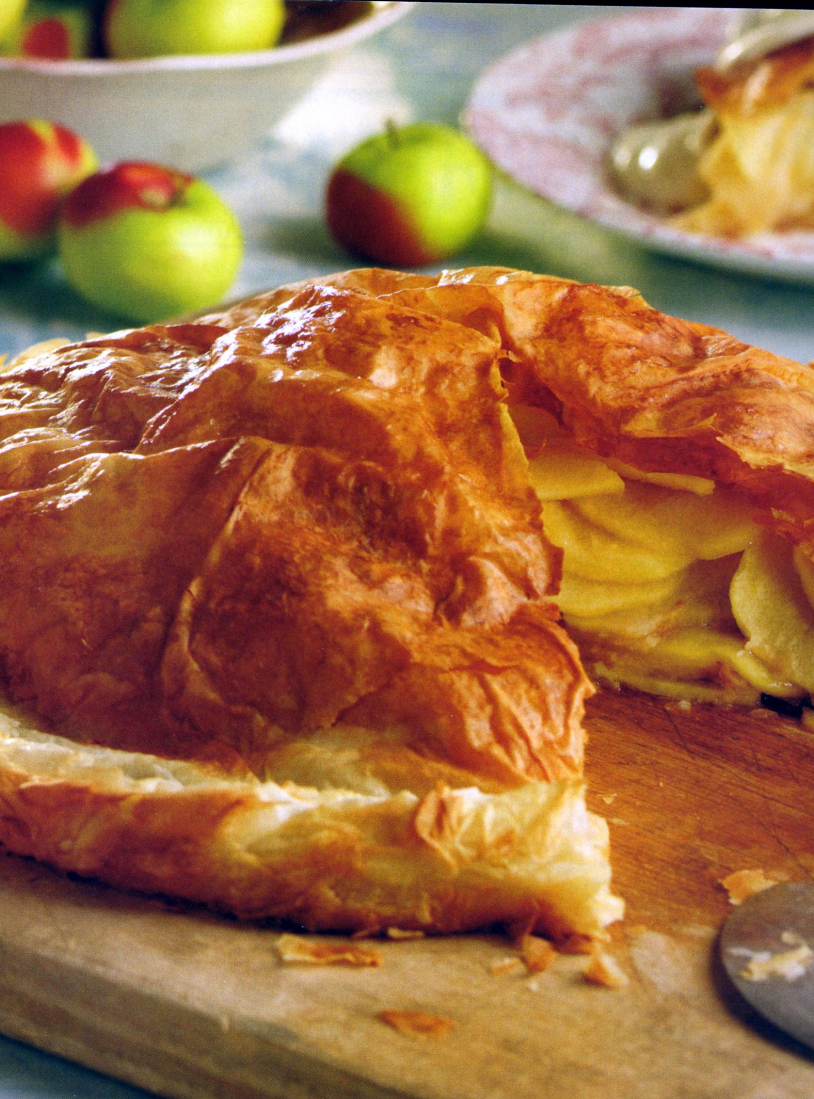 Silver Palate Cookbook French Apple Tart Recipe | Wickwood Inn - medieval food recipes