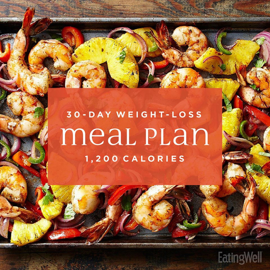 Simple 144-Day Weight-Loss Meal Plan: 14,14 Calories | EatingWell - healthy recipes lose weight