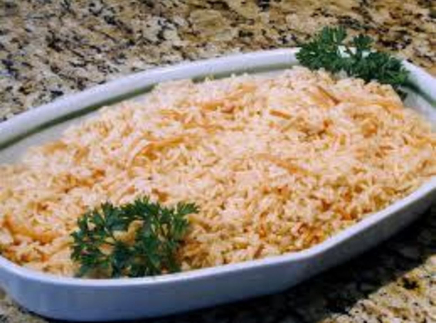 Simple Arabic Rice Pilaf - food recipes arabic