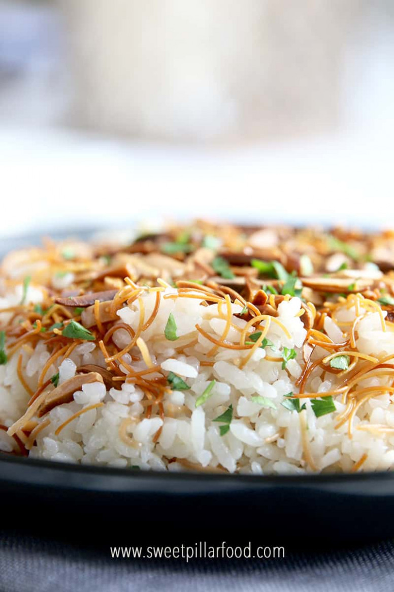 Simple Arabic Rice With Vermicelli  Take Boring White Rice ..