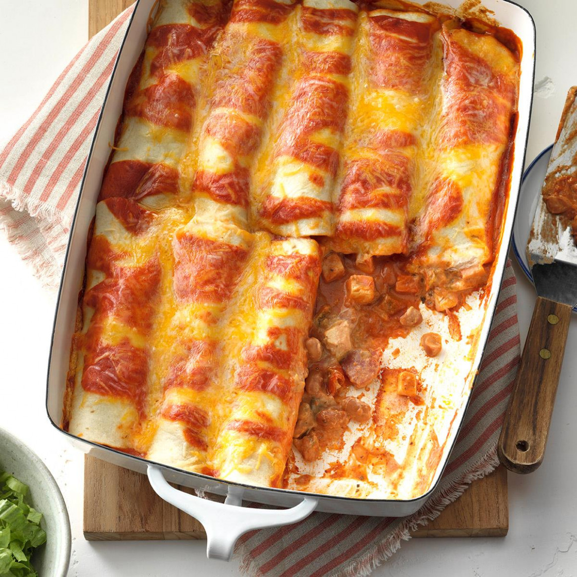 Simple Chicken Enchiladas - chicken recipes quick easy